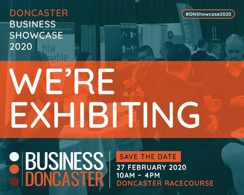 Doncaster Business Showcase 2020 - We are at the show